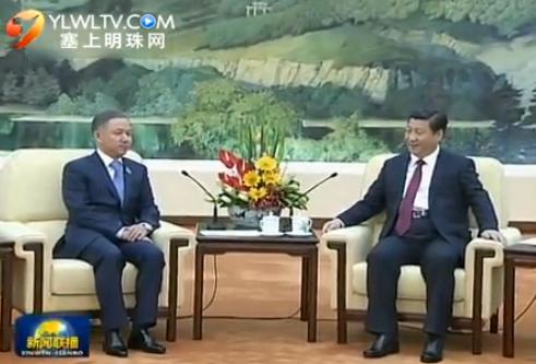 习近平会见哈萨克斯坦议会下院议长