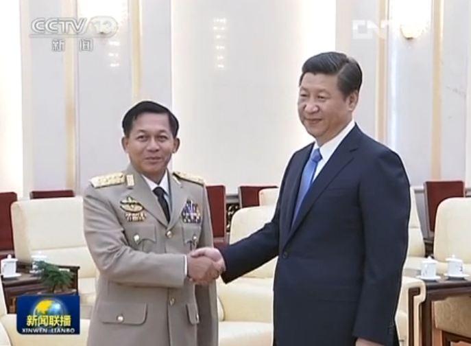 点击观看《习近平会见缅甸国防军总司令》