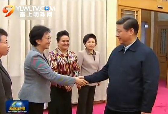 习近平同全国妇联新一届领导班子集体谈话
