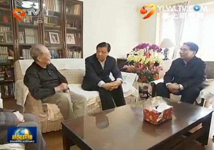 点击观看《刘云山看望著名科技专家》