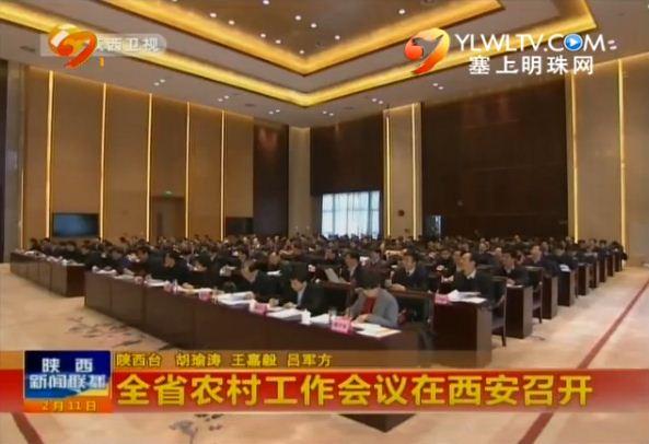点击观看《全省农村工作会议在西安召开》