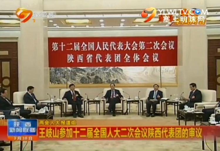 点击观看《王岐山参加全国人大二次会议陕西代表团的审议》