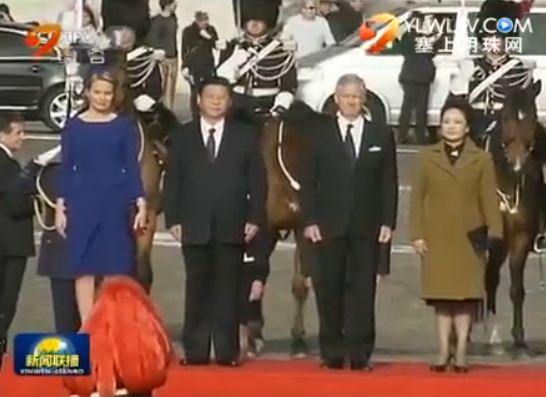 点击观看《习近平出席比利时国王举行的欢迎仪式》