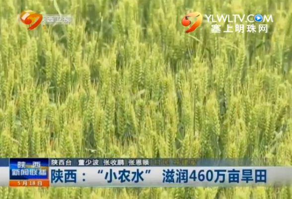 """陕西:""""小农水""""滋润460万亩旱田"""