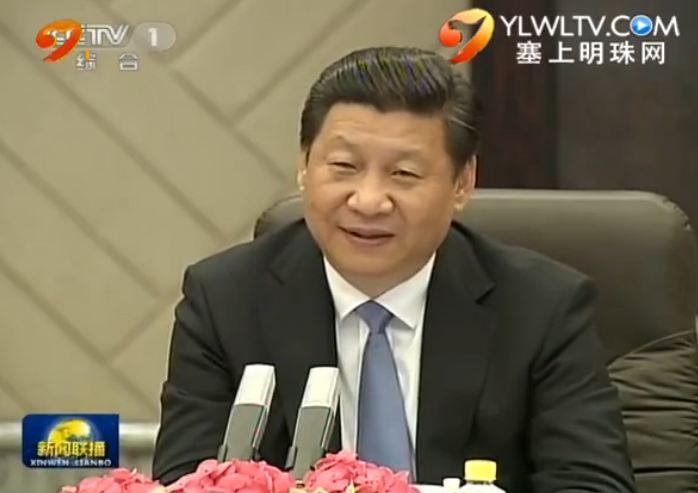 习近平会见蒙古国总统
