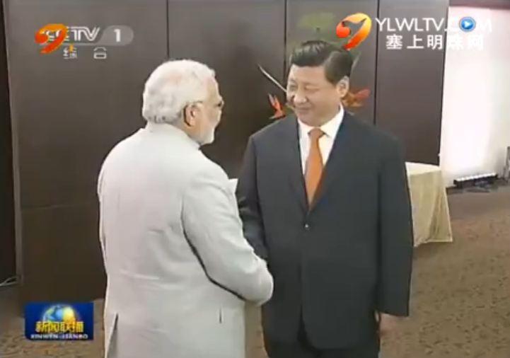 点击观看《习近平会见印度总理》