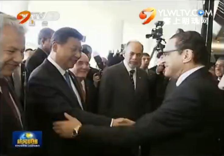 点击观看《习近平会见巴西参议长和众议长》
