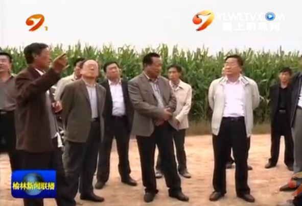 点击观看《市人大常委会调研组在定边县调研农村土地流转工作》