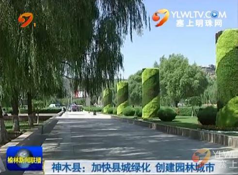 点击观看《神木县:加快县城绿化 创建园林城市》
