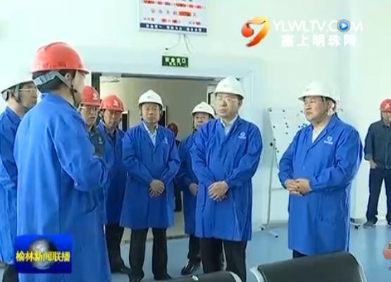 点击观看《胡志强在榆阳区检查安全生产工作时强调盯紧看牢安全生产 确保安全形势稳定》