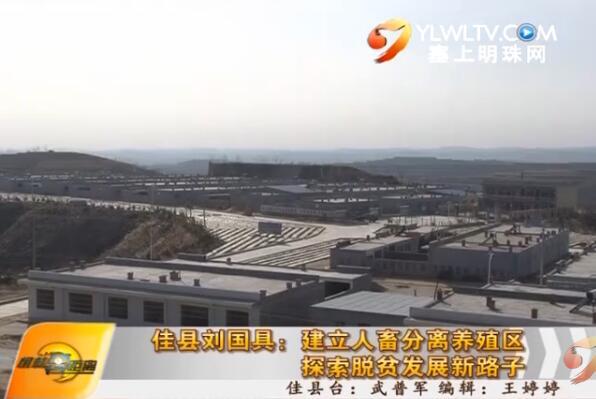 佳县刘国具:建立人畜分离养殖区 探索脱贫发展新路子