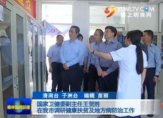 点击观看《国家卫健委副主任王贺胜在我市调研健康扶贫及地方病防治工作》