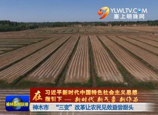 """神木市 """"三变""""改革让农民见效益尝甜头"""