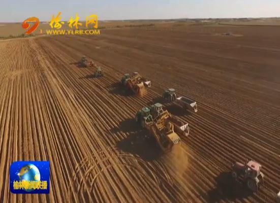 四十年 榆林现代农业特色化规模化