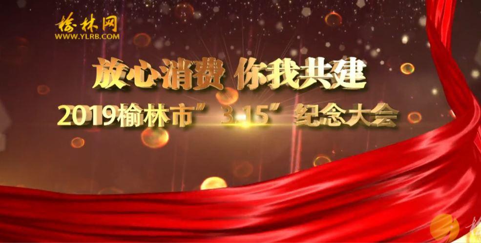 """点击观看《放心消费 你我共建 2019榆林市""""3.15""""纪念大会(上)》"""