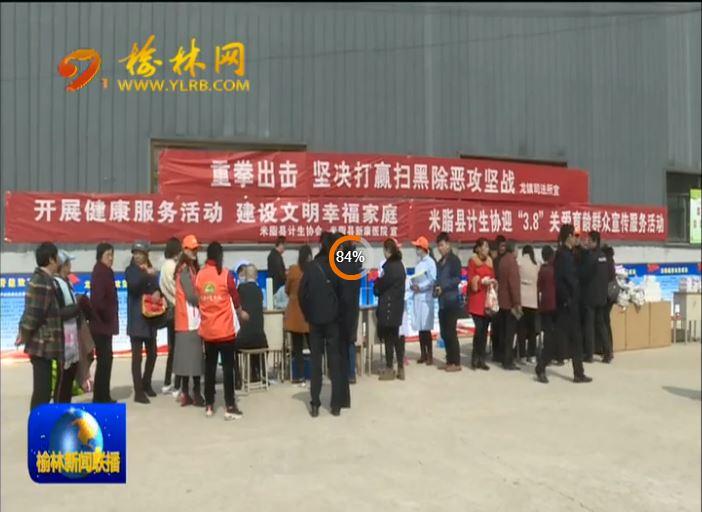 米脂县:严惩黑恶犯罪 净化社会环境