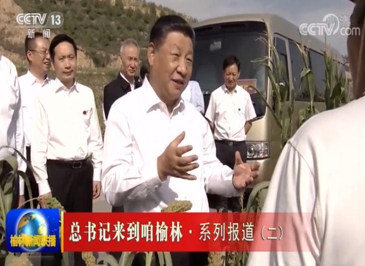 总书记来到咱榆林·系列报道(二) 建设好黄土高原生态治理样板