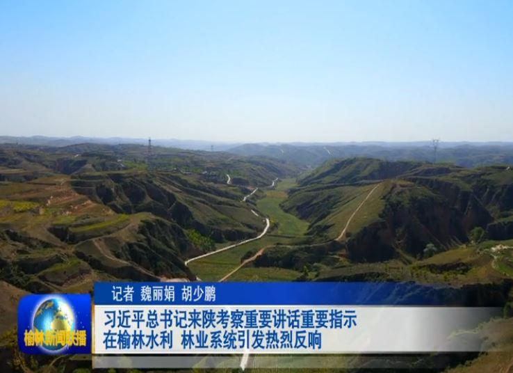 习近平总书记来陕考察重要讲话重要指示在榆林水利林业系统引发热烈反响